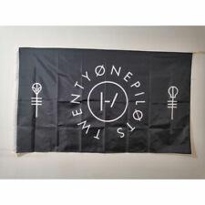 Twenty One Pilots Clique Flag Black 3x5ft banner Decoration Indoor Outdoor Sport