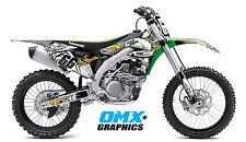 1998 - 2019 Full KAWASAKI KLX 110 125 140 250 MX Graphics Stickers Decals Kit SA