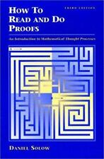 How to Read and Do Proofs: An Introduction to Mathematical Thought Processes by