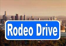 Los Angeles signo calle reproducción signo calle Rodeo Drive signo calle