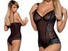 Obsessive Body Amanta Teddy Schritt offen Dessous Reizwäsche Bodysuit S-XXL