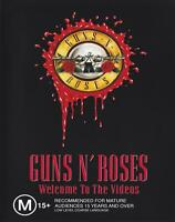 GUNS N' ROSES - WELCOME TO THE VIDEOS DVD ~ AXL ROSE~SLASH~DUFF McKAGAN *NEW*