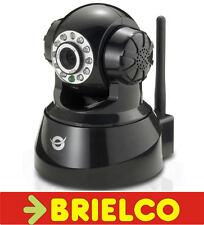 CAMARA VIDEOVIGILANCIA IP LAN Y WIFI INALAMBRICA PIR MOTOR PC Y MOVIL BD10207
