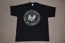 Ramones Joey Ramone Joint 1 2 3 4 T Shirt XL Neuf Official Hey Ho LET'S Go Punk