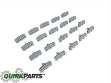 02-11 Jeep Liberty FENDER FLARE ARROW HEAD MOULDING CLIPS (SET OF 20) NEW MOPAR