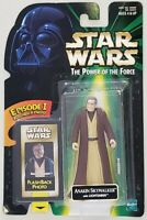 STAR WARS POWER OF THE FORCE ANAKIN SKYWALKER WITH EPISODE I FLASHBACK PHOTO