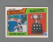 1983-84 O-Pee-Chee Art Ross Trophy Winner #204 Wayne Gretzky OPC