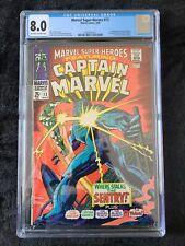 MARVEL SUPER-HEROES #13 (1968) 💥 CGC 8.0 💥 Captain Marvel