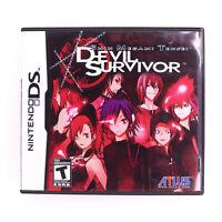 Shin Megami Tensei: Devil Survivor Nintendo DS Atlus Complete CIB