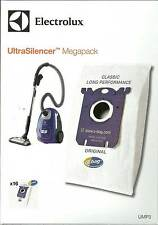 GENUINE ELECTROLUX ULTRA SILENCER S.BAG VACUUM CLEANER MEGAPACK 16 BAGS UMP3