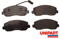 For Vauxhall - Movano 2.3 CDTI 2010-On Front Brake Pads Set Unipart