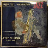 GERRY MULLIGAN SEXTET mainstream of jazz LP VG MG 36101 EmArcy 1956 Record