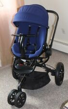 Used Quinny Moodd Blue Reliance Standard Single Seat Stroller
