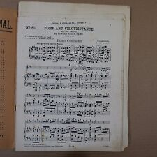 orchestra parts POMP & CIRCUMSTANCE MILITARY MARCH 1 in D elgar arr adolf schmid