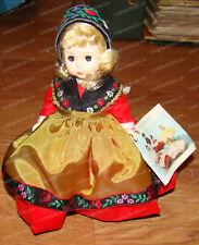 Sweden (Madame Alexander International Doll Collection, 592) 1980's