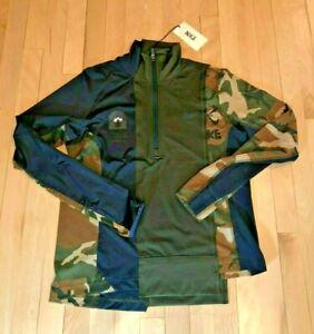 Nike X Women's Sacai Half-Zip Running Jacket Sequoia Obsidian CD6308 355 XL