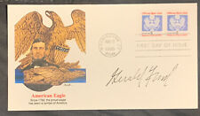 President Gerald Ford Signed Autographed First Day Issue Envelope Usa