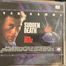 """Sudden Death / Letterboxed  - 12""""  Laserdisc Buy 6 for free shipping"""