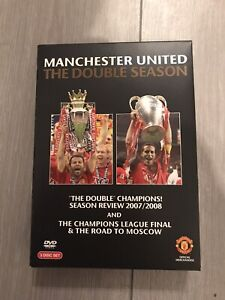 Manchester United The Double Champions Season Review 2007/2008 UK 3 Disc Set