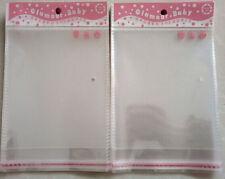100PC 10x15cm Food Grade Cello Bag Open End Candy Lollipop Cake Moisture-proof Z