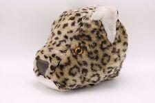 Dianne Shapiro Soft Sculpture Plush LEOPARD Head Stuffed Animal Big Cat  Vermont