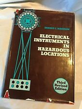 ELECTRICAL INSTRUMENTS IN HAZARDOUS LOCATIONS Magison Third Revised Edition