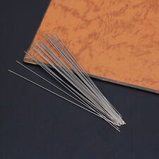 30 x Beading Needles Threading String Cord Jewelry Craft Making Tool 0.6 x 120mm