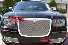 Fits 05-10 Chrysler 300 Stainless Steel Mesh Grille Combo