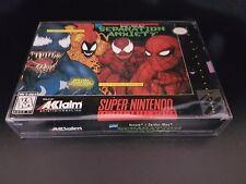 Venom Spider-Man: Separation Anxiety [SNES] [Super Nintendo] [1995] [No Manual!]