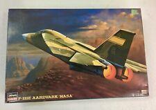 Hasegawa hobby kits  F-111E AARDVARK NASA -  Mint in box