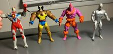 Marvel Krule, Wolverine, SilverSurfer, & Ultraman Action Figure 5in Lot 1990s
