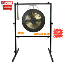 More details for 40cm copper hand forging gong chinese traditional instrument with hammer