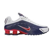 Nike Shox R4 Midnightnavy/UniversityRed 104265 406 NEW