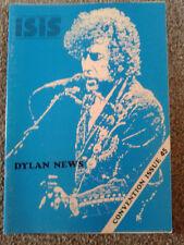 Bob Dylan Isis Bob Dylan Fan Club Magazine nr 45 rarità