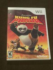 Nintendo Wii DreamWorks Kung Fu Panda Video Game Rated E