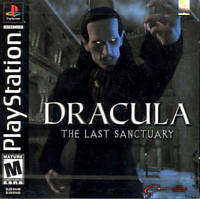 Dracula The Last Sanctuary - PS1 PS2 Playstation Game
