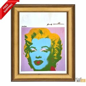 Andy Warhol Hand Signed Original Print with COA
