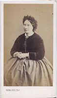 Numa Figlio Parigi Carte de visite Vintage Albumina Ca 1865