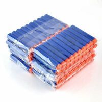 Lot 100 Pcs Refill Foam Darts for Nerf N-strike Elite Series Blasters Bullets