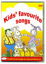 Kids Favourite Songs DVD.  Nursery rhymes, children's sing a long, dance *NEW*