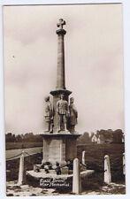 EAST BRENT War Memorial, Somerset, RP Postcard Unused