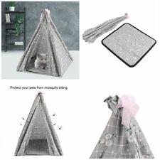 Portable Folding Dog Pet House Bed Tent Waterproof Cat Indoor Outdoor Teepee
