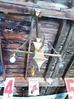 Antique Arts   Crafts Ceiling Light 4 Arm