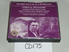 Teatro Alla Scala Di Milano Verdi Il Trovatore Carlo Sabajno CD -1017CD175