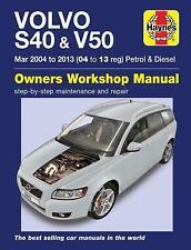 Volvo S40 & V50 Petrol & Diesel 2004 - 2013 Haynes Manual 6443