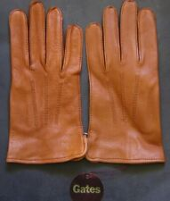 GATES LEATHER GLOVES – FASHION, DRIVING, OUTDOOR – SMALL – NEW