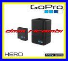 Caricabatterie doppio originale GOPRO Telecamere HERO 5/6 con 1 batteria inclusa