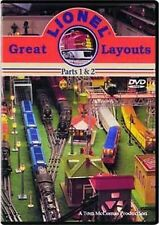 Great Lionel Train Layouts Parts 1 & 2 DVD SHIPS FAST!