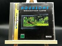 Aquazone Desktop Life (sega saturn,1996) from japan #2405
