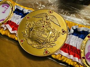 Ring Magazine Award World Heavyweight Championship Replica Belt